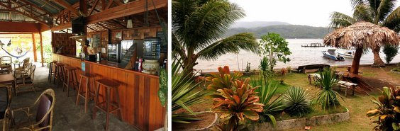 Cafe-and-View in lembeh