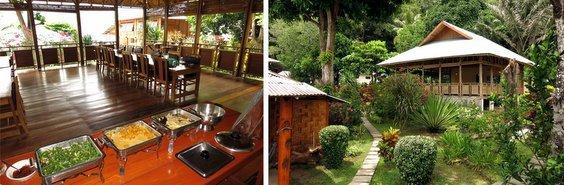 Restaurant in lembeh