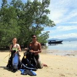 Open Water Course in Bunaken