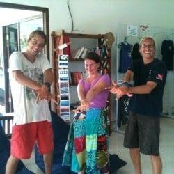 open water course with mantas lembongan 22JAN13
