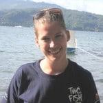 Divemaster intern Sarah