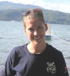 Sarah divemaster course in lembeh
