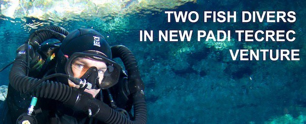 TWO FISH DIVERS new company in Indonesdia for TEC Diving