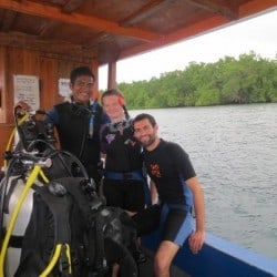 open water course Bunaken 18FEB13