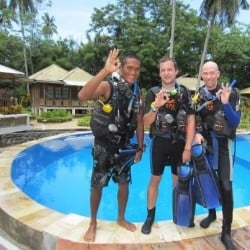 open water course bunaken 4MAR13