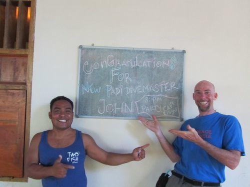 divemaster internship in Bunaken finished