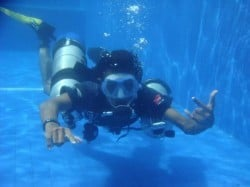 sidemount diving in lembongan 22Apr13