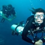 DMTs diving sidemount