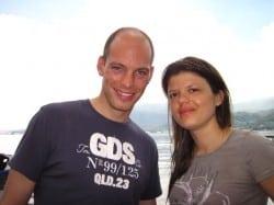 Divemaster trainees Joep & Sylvie