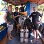 Tec diving on Siladen Island, Bunaken Marine Park