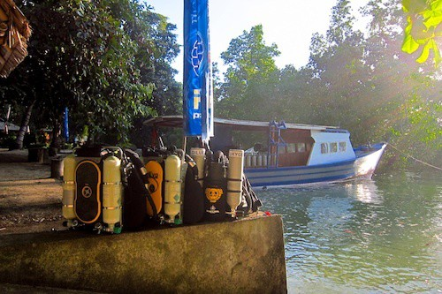revo rebreathers in Bunaken
