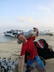 DIVEMASTER INTERNSHIP IN LEMBONGAN – REPORT 2 FROM BEN