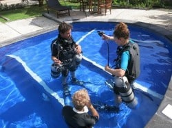 sidemount courses in lembongan