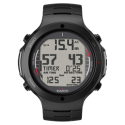 Suunto D6i Dive Computer All Black Steel