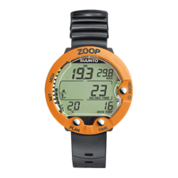 Suunto Zoop dive computer orange