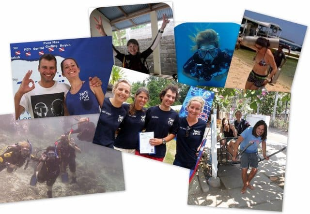 PADI courses from last week