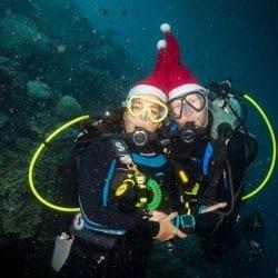 Santa comes to Bunaken