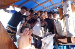 On The Boat Bunaken