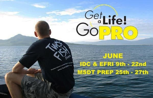 PADI IDC in Bunaken June 2015