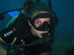 Angela 3 - All Finished With My Divemaster Course in Bunaken