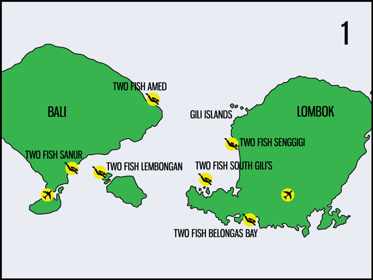 Bali-Lombok-Locations