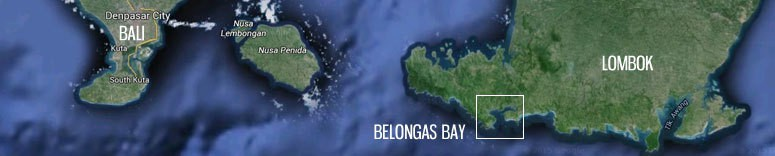 belongas bay lombok