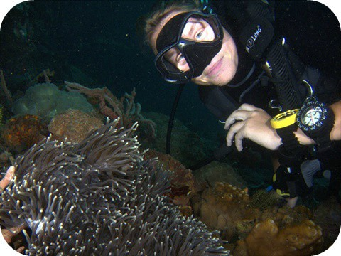 Finishing my PADI Divemaster Training in Lembeh