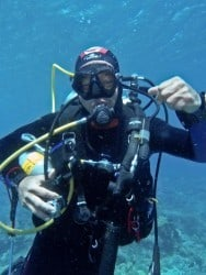 This week in Tec diving with Two Fish Divers