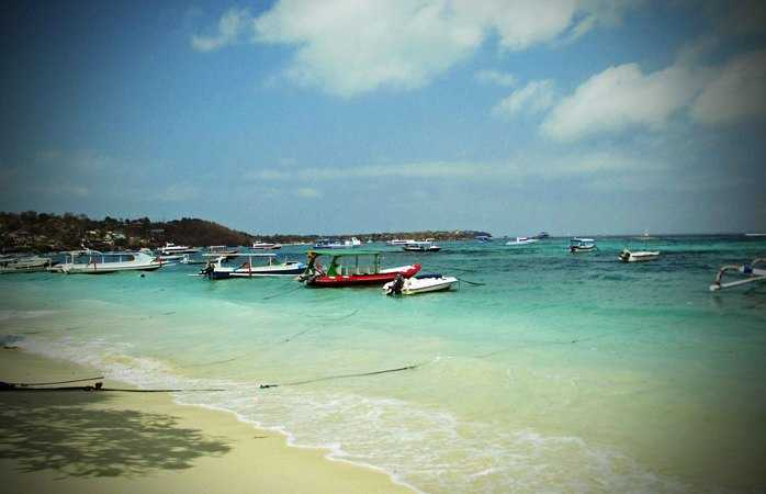 Calm Sea For Nyepi Laut in Lembongan