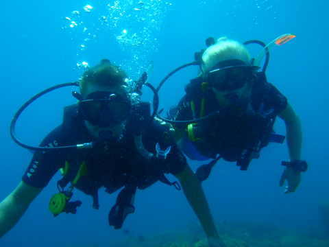 Scuba diving in Bunaken