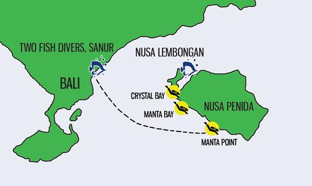 Nusa Penida and Nusa Lembongan Day Trips