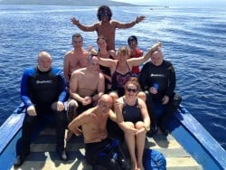 Christmas diving in Bunaken