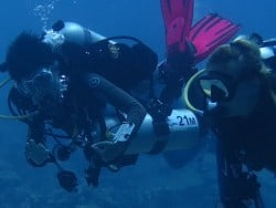 Technical diving bali