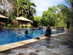 PADI instructor course in Bunaken