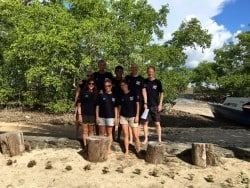 Two Fish Divers PADI IDC candidates in Bunaken