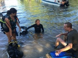 Roya's Instructor course and internship in Bunaken