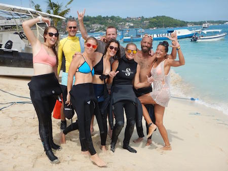 padi instructor course in lembongan