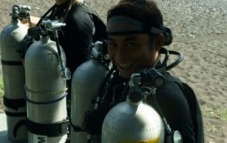 PADI TecRec instructor courses in Amed