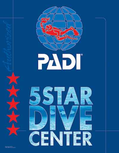 two fish is PADI 5 star