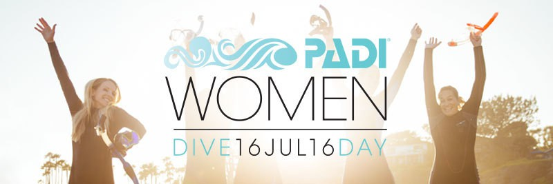 PADI Women's Dive Day July 2016