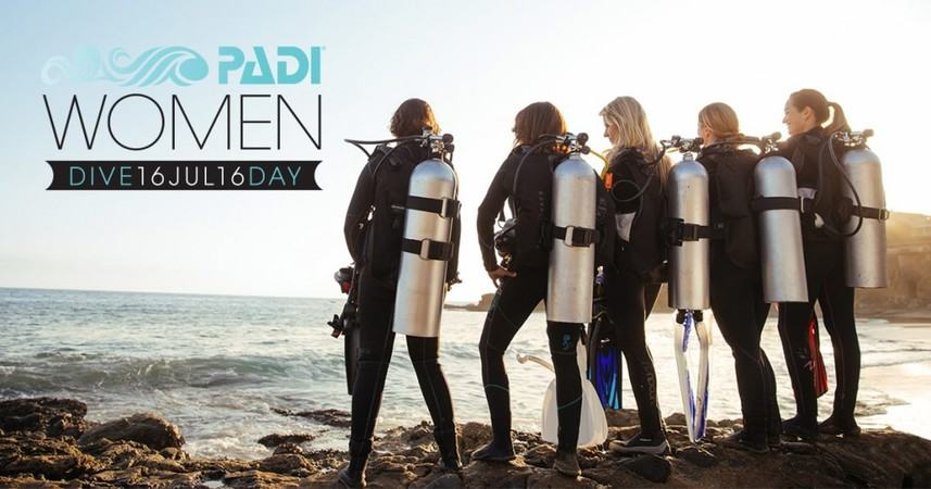 Two Fish Divers Women's Dive Day 2016