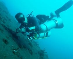 PADI and TDI Sidemount courses in Amed