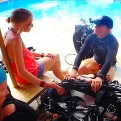 Tech diving courses at Two Fish Tech in Amed