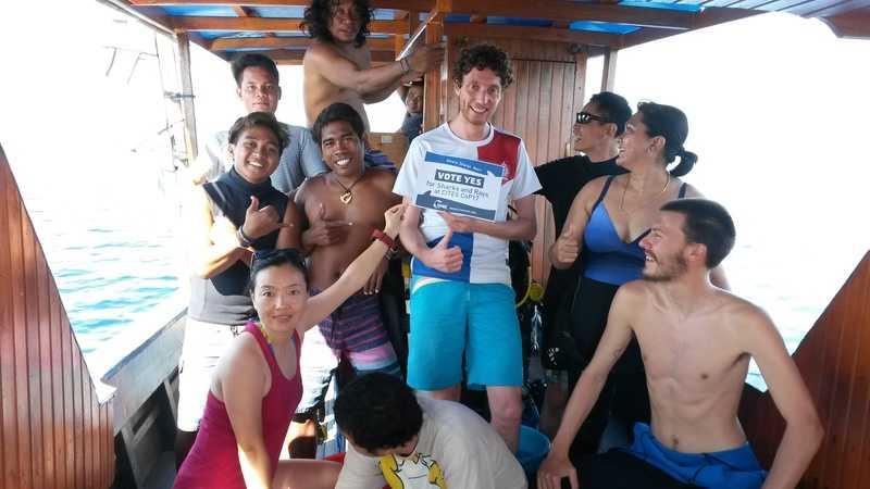 #Divers4SharksNRays @CITES #CoP17 Campaign