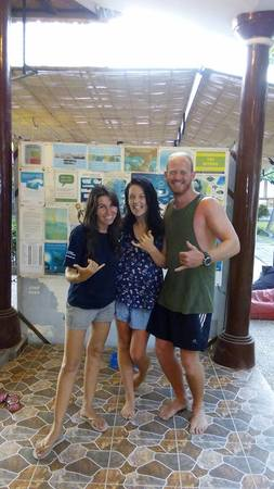 divemaster trainee blog by Jackie & Brent