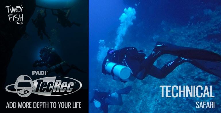tech diving safari bunaken