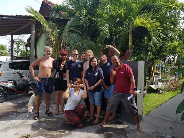 Natacha's Divemaster course in Amed