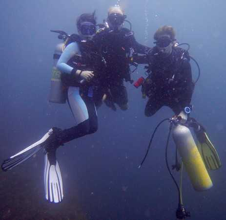 wreck specialty course in Lembeh