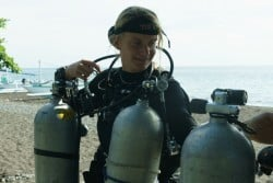 Become a technical diving instructor