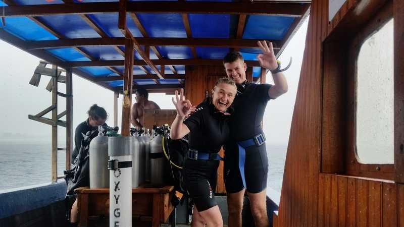 Divemaster trainee and his experience